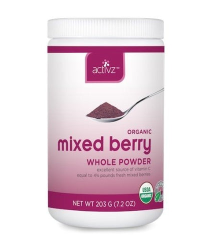 Activz Mixed Berry Powder (Stnd. size) - ChosenMeds.com