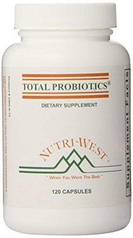 Nutri-West Total Probiotics, 120 - ChosenMeds.com: Your premier online shop for the best health supplements and skin care products