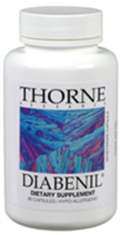 Thorne Research Diabenil, 90 Capsules - ChosenMeds.com: Your premier online shop for the best health supplements and skin care products