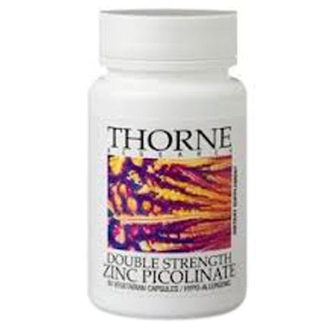 Thorne Research Double Strength Zinc Picolinate (30mg) - 180ct - ChosenMeds.com: Your premier online shop for the best health supplements and skin care products