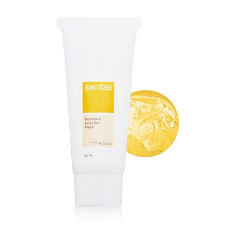 Sanitas Skincare Pumpkin Enzyme Mask 60 ml. - ChosenMeds.com: Your premier online shop for the best health supplements and skin care products
