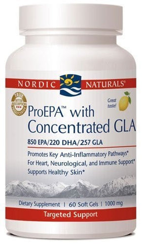 Nordic Naturals - ProEPA with Concentrated GLA - 60 Soft Gels - ChosenMeds.com: Your premier online shop for the best health supplements and skin care products