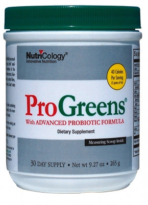 Nutricology Progreens, 9.27-Ounce - ChosenMeds.com: Your premier online shop for the best health supplements and skin care products