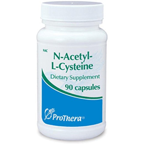 Prothera NAC (N-acetyl-l-cysteine) 90 Capsules with Pill Box
