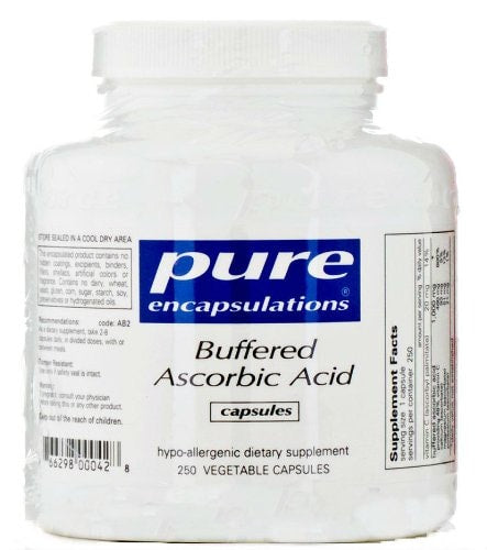 Pure Encapsulations Buffered Ascorbic Acid, 250 - ChosenMeds.com: Your premier online shop for the best health supplements and skin care products