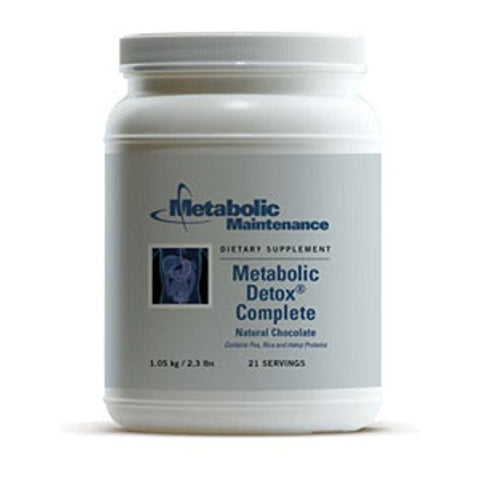 Metabolic Maintenance - Metabolic Detox Complete Choc. 2.3lbs - ChosenMeds.com: Your premier online shop for the best health supplements and skin care products