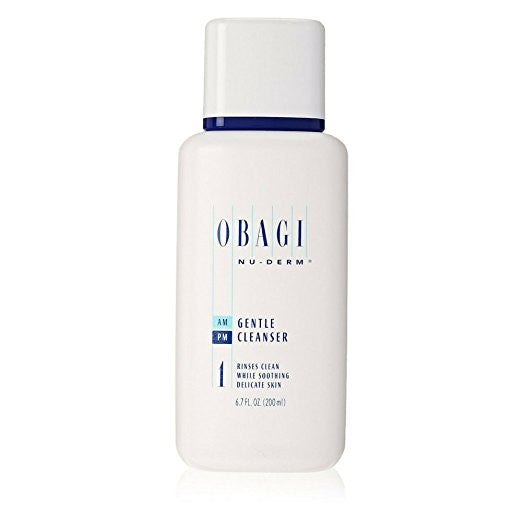 Obagi Nu-Derm Gentle Cleanser 6.7 fl oz - ChosenMeds.com: Your premier online shop for the best health supplements and skin care products