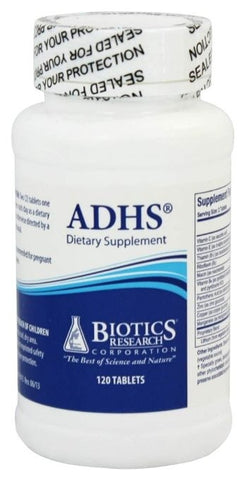 Biotics Research ADHS 240 Tablets - ChosenMeds.com: Your premier online shop for the best health supplements and skin care products