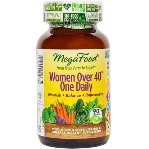 MegaFood Women Over 40 One Daily - ChosenMeds.com: Your premier online shop for the best health supplements and skin care products