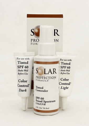 Solar Protection Formula SPF 60 Tinted Concealer - Broad Spectrum UVA/UVB Sunscreen - ChosenMeds.com: Your premier online shop for the best health supplements and skin care products