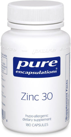 Pure Encapsulations - Zinc 30 - 180's - ChosenMeds.com: Your premier online shop for the best health supplements and skin care products