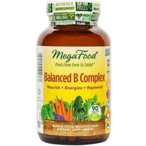 MegaFood Balanced B Complex - ChosenMeds.com: Your premier online shop for the best health supplements and skin care products