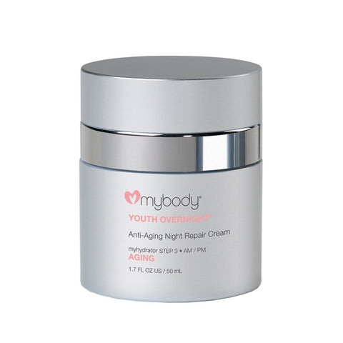 Love My Body YOUTH OVERNIGHT Anti-Aging Night Repair Cream - ChosenMeds.com: Your premier online shop for the best health supplements and skin care products