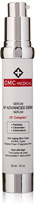 GMC Medical Gf Advanced Derm Serum, 1 Fluid Ounce - ChosenMeds.com: Your premier online shop for the best health supplements and skin care products