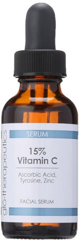 Glo Therapeutics 15% Vitamin C, 1 Fluid Ounce - ChosenMeds.com: Your premier online shop for the best health supplements and skin care products