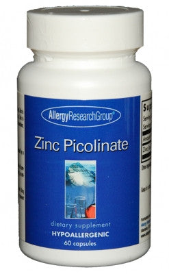 Allergy Research Group Zinc Picolinate 25 mg 60 caps - ChosenMeds.com