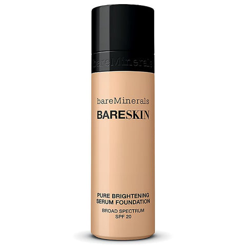 Bare Minerals BareSkin Pure Serum Foundation Broad Spectrum SPF 20 Bare Shell 02 1.0 oz - ChosenMeds.com: Your premier online shop for the best health supplements and skin care products
