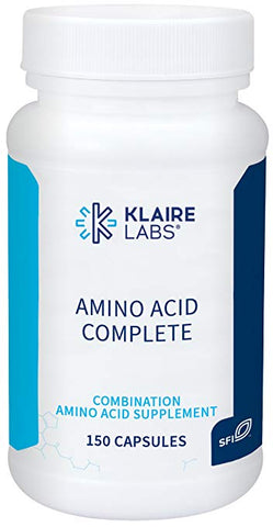 Klaire Labs Amino Acid Complete - Free-Form Hypoallergenic Complex, 150 Capsules