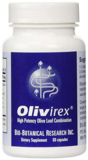 Bio-Botanical Research - Olivirex Combination 60 caps - ChosenMeds.com: Your premier online shop for the best health supplements and skin care products