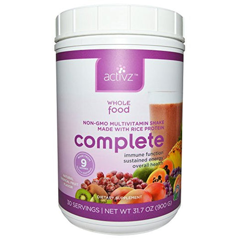 Activz Complete Tropical Flavor Multivitamin Replacement 30 Servings 1 lb. 13.6 oz