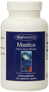 Allergy Research Group Mastica Chios Gum Mastic, 500 mg, 120 Capsules - ChosenMeds.com: Your premier online shop for the best health supplements and skin care products
