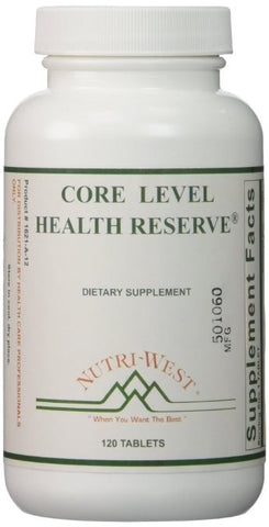 Nutri-West Core Level Health Reserve, 120 - ChosenMeds.com: Your premier online shop for the best health supplements and skin care products
