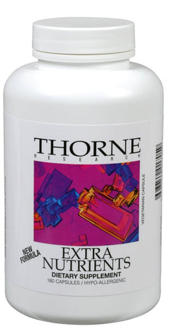 Thorne Research Extra Nutrients 180c - ChosenMeds.com: Your premier online shop for the best health supplements and skin care products