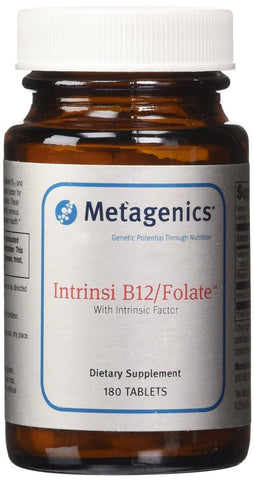 Metagenics Intrinsi B-12/Folate 180 Tablets - ChosenMeds.com: Your premier online shop for the best health supplements and skin care products