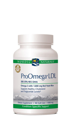 Nordic Naturals ProOmega LDL, 90 - ChosenMeds.com: Your premier online shop for the best health supplements and skin care products