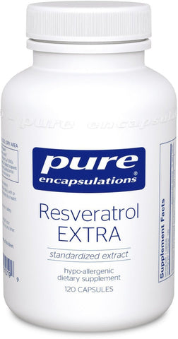 Pure Encapsulations Resveratrol EXTRA 120's - ChosenMeds.com: Your premier online shop for the best health supplements and skin care products