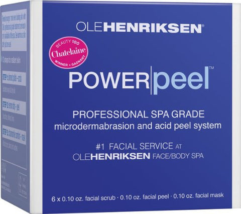 Ole Henriksen Power Peel Professional Spa Grade Kit 6 Treatments - ChosenMeds.com: Your premier online shop for the best health supplements and skin care products