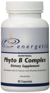 Energetix Phyto B Complex, 90 Capsules - ChosenMeds.com: Your premier online shop for the best health supplements and skin care products