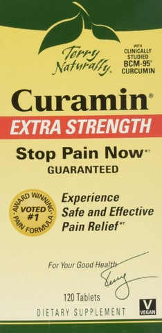 Terry Naturally Curamin Extra Strength, 120 Tablets - ChosenMeds.com: Your premier online shop for the best health supplements and skin care products