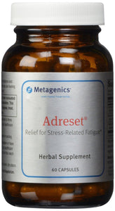 Metagenics Adreset Capsules, 60 - ChosenMeds.com: Your premier online shop for the best health supplements and skin care products