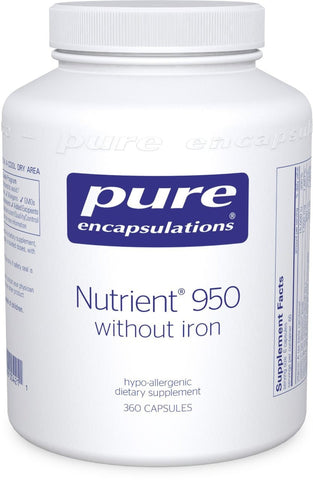 Pure Encapsulations - Nutrient 950 w/o Iron 360's - ChosenMeds.com: Your premier online shop for the best health supplements and skin care products