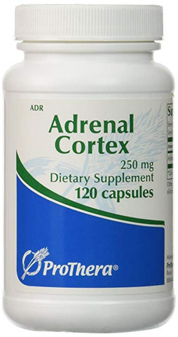 ProThera Adrenal Cortex 250 mg Capsules, 120 Count