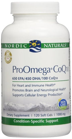 Nordic Naturals Pro Omega CoQ10 120 Softgels 1000mg - ChosenMeds.com: Your premier online shop for the best health supplements and skin care products