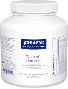 Pure Encapsulations - Women's Nutrients 180's - ChosenMeds.com: Your premier online shop for the best health supplements and skin care products