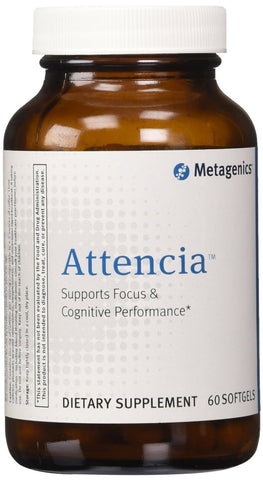 Metagenics Attencia Softgels, 60 - ChosenMeds.com: Your premier online shop for the best health supplements and skin care products
