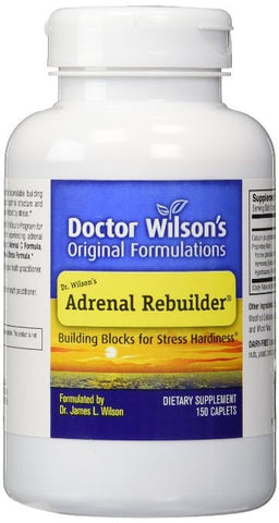 Dr Wilson's Original Formulations Rebuilder Adrenal Extracts, 150 Count - ChosenMeds.com: Your premier online shop for the best health supplements and skin care products