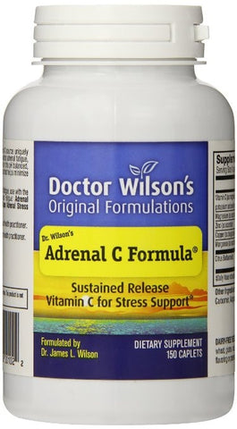 Dr Wilson's Original Formulations Adrenal C Extracts, 150 Count - ChosenMeds.com: Your premier online shop for the best health supplements and skin care products