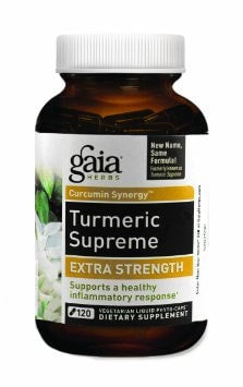 Gaia Herbs Turmeric Supreme Extra Strength 120 Liquid Phyto-Capsules Capsules - ChosenMeds.com: Your premier online shop for the best health supplements and skin care products
