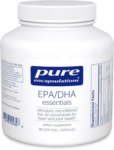 Pure Encapsulations - EPA/DHA Essentials 1000mg 180 Softgels - ChosenMeds.com: Your premier online shop for the best health supplements and skin care products