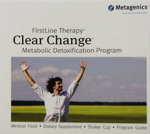 Metagenics 10 Day Clear Change Program, Vanilla Flavor - ChosenMeds.com: Your premier online shop for the best health supplements and skin care products