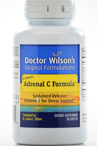 Dr. Wilson's Original Formulations Adrenal C Formula 90 Cplts - ChosenMeds.com: Your premier online shop for the best health supplements and skin care products
