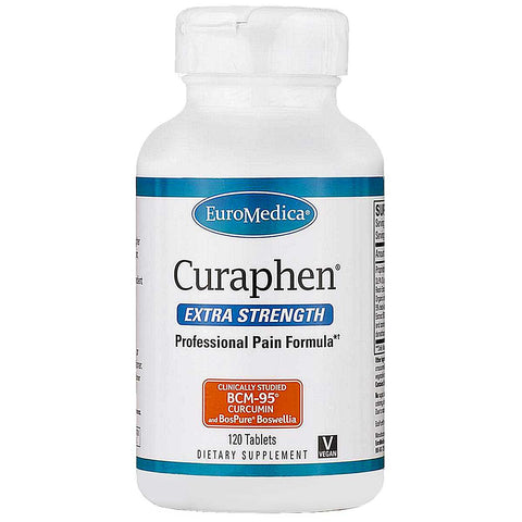 Euromedica Curaphen, Extra Strength, 120 tabs - ChosenMeds.com: Your premier online shop for the best health supplements and skin care products