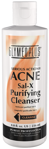 Glymed Plus Serious Action Sal-X Purifying Cleanser 8 oz - ChosenMeds.com: Your premier online shop for the best health supplements and skin care products