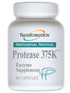 Transformation Enzymes Protease 375K 60 caps - ChosenMeds.com: Your premier online shop for the best health supplements and skin care products
