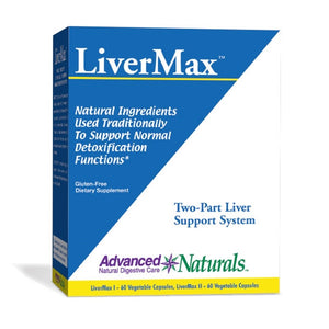 Advanced Naturals LiverMax (2-part kit) - ChosenMeds.com