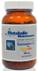 Metabolic Maintenance Curcumin + C 400 mg 60c - ChosenMeds.com: Your premier online shop for the best health supplements and skin care products
